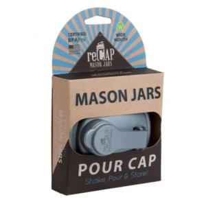 Mason Jar | Pour Cap