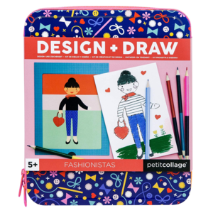 Chronicle Books Design + Draw | Fashionistas