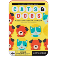 Petit Collage Magnetic Travel Game | Cats & Dogs
