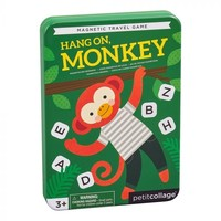 Petit Collage Magnetic Travel Game | Hang On Monkey
