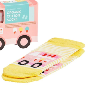 Petit Collage Organic Toddler Socks | Trucks