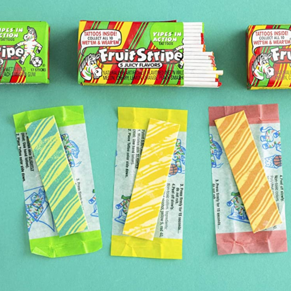 Nassau-Hobbs & Dobbs Gum | Fruit Stripe