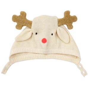 Meri Meri Baby Bonnet | Reindeer