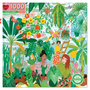 EEBOO Puzzle | 1000pc | Plant Ladies