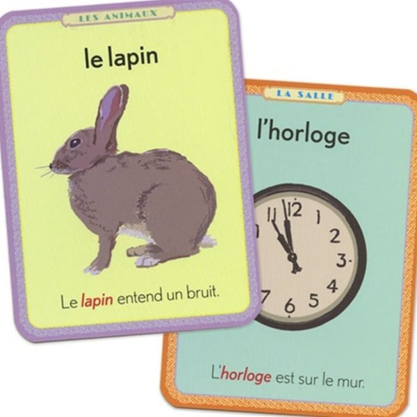 EEBOO Flash Cards | French