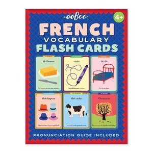 EEBOO Flash Cards | French