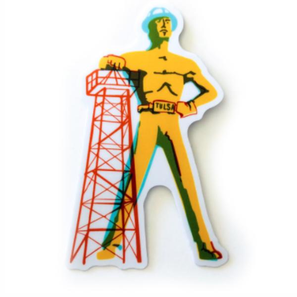 Stickers Northwest Sticker | Tulsa Driller