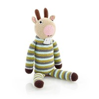 Pebble Crochet Rattle | Goat