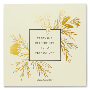 Compendium Daily Planner Pad | Today Is a Perfect Day