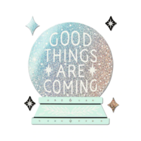 Compendium Sticker | Good Things Are Coming