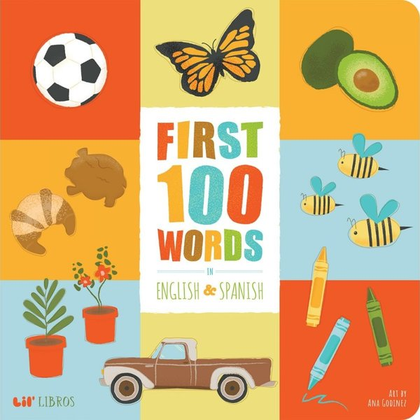 Board Book | First 100 Words | English/Spanish