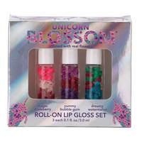 Unicorn Lip Gloss | 3 Piece Gift Set