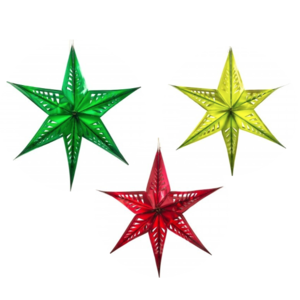 Acorn & Will Recycled Decorations | Large Star