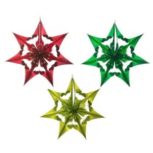 Recycled Decorations | Spherical Star