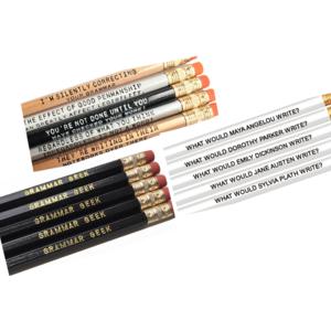 Wood Pencil Sets