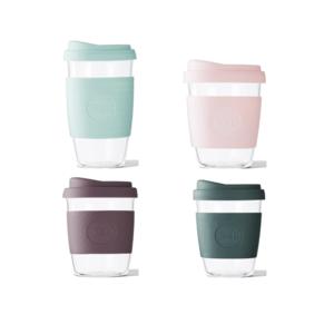 Glass Tumblers + Silicone Sleeve
