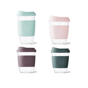 One Less Glass Tumblers + Silicone Sleeve