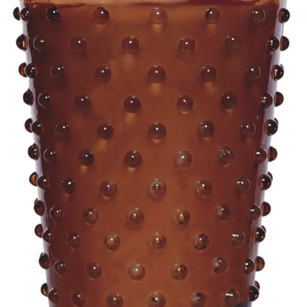 Simpatico Hobnail Candle | Gingerbread