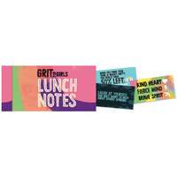 Papersalt Lunch Notes | Grit for Girls