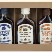 Maple Syrup Sampler | Salted Caramel + Bourbon + Blueberry