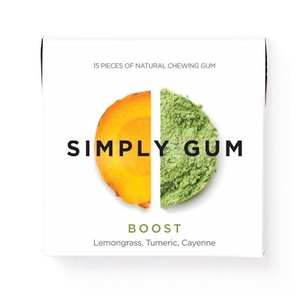 Simply Gum Simply Gum | Boost | Lemongrass Turmeric Cayenne