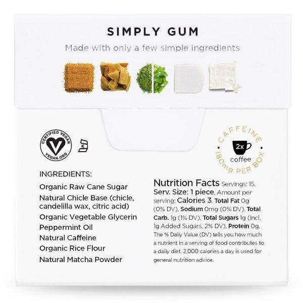 Simply Gum Simply Gum   Awaken   Peppermint Matcha