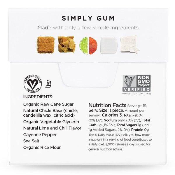 Simply Gum Simply Gum | Revive | Lime Chili Sea Salt