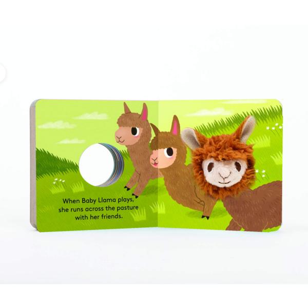 Board Book   Finger Puppet   Baby Llama