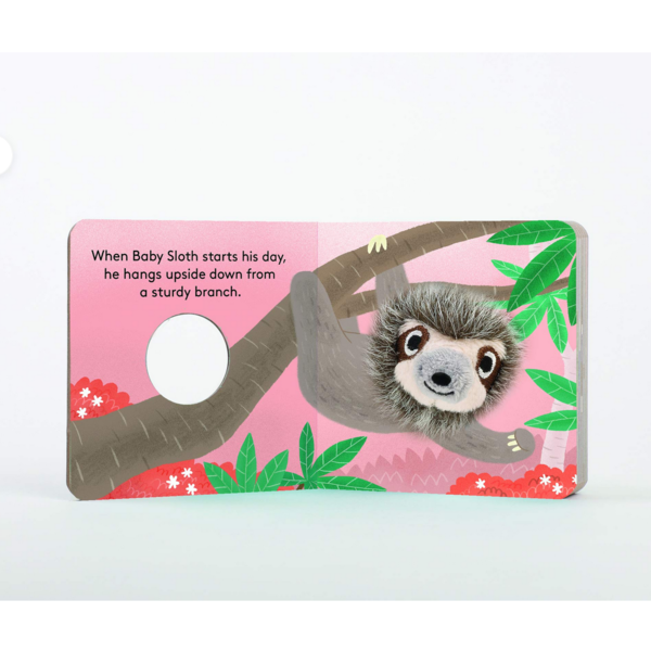 Board Book | Finger Puppet | Baby Sloth