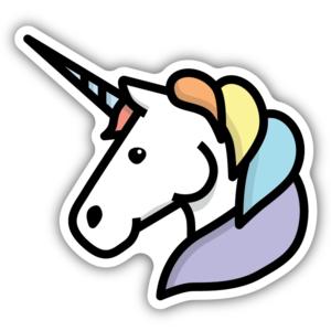 Stickers Northwest Sticker | Unicorn Head