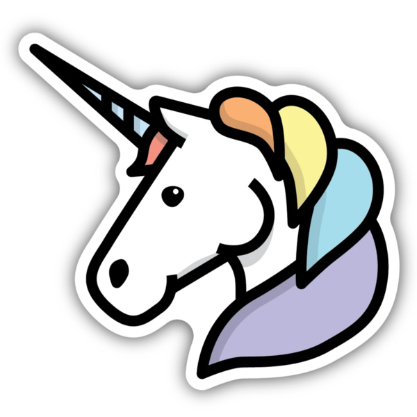 Stickers Northwest Sticker | Unicorn Head