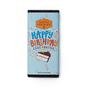 Seattle Chocolate Company Truffle Bar | Happy Birthday