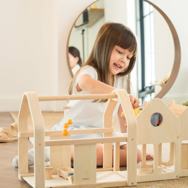 Plan Toys Playhouse Dollhouse | Slide 'N Go