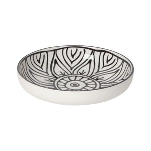 Now Designs Stamped Shallow Bowl | Bloom