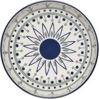 Stamped Shallow Bowl | Black/Navy Sun