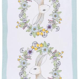 Now Designs Tea Towel | Spring Hop Print
