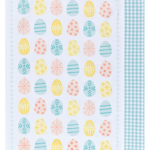 Now Designs Tea Towel | Set of 2 | Easter Eggs