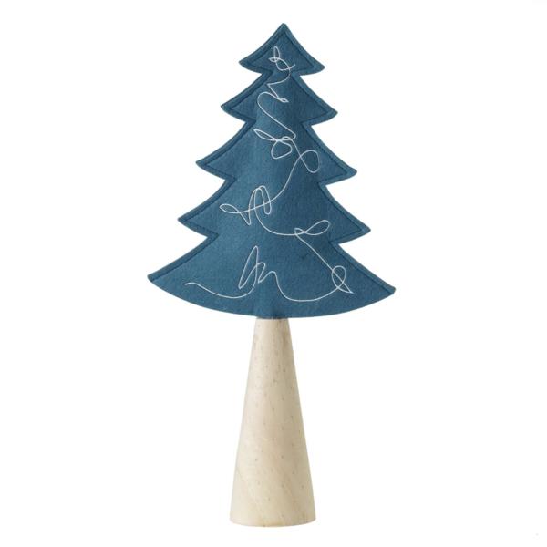 "Accent Decor Tree   Wood Base   18.75"""