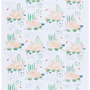 Now Designs Tea Towel | Swan Lake