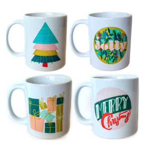 PLENTY Holiday Mugs (4 Designs)