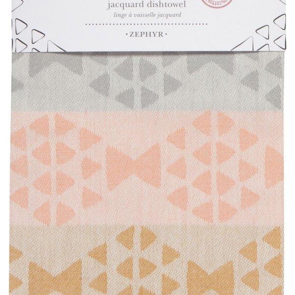 Now Designs Tea Towel | Zephyr Jacquard