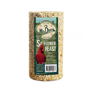Mr. Bird Bird Seed Cylinder | Small | Safflower Feast