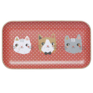 Now Designs Tray | Willow Wood | Meow Meow