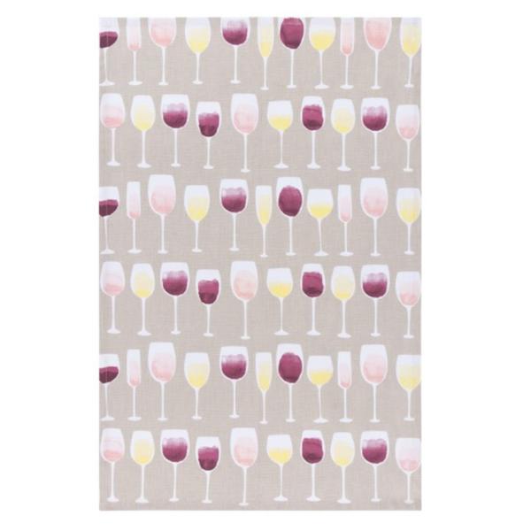Now Designs Tea Towel | Wine Tasting