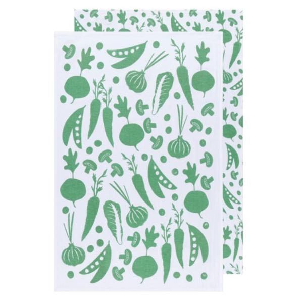 Now Designs Floursack Tea Towel | Set of 2 | Greenbriar