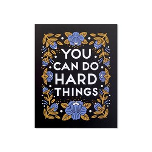 Art Print | Hard Things