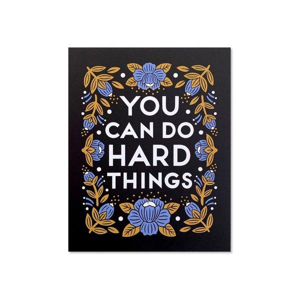 Art Print | Hard Things