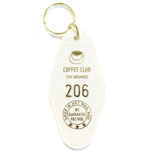 THREE potato FOUR Key Tag | Coffee Club