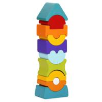 Wise Elk Puzzle Blocks | Flexible Tower
