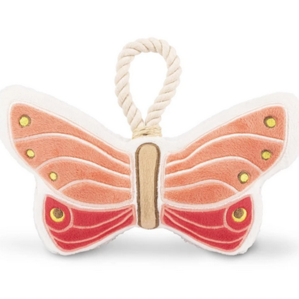 Dog Plush Toy | Pink Butterfly